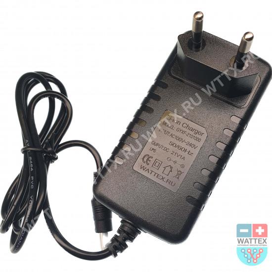 Зарядное устройство Li-ion 5S 18v (21v) 1A