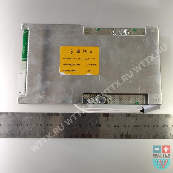 BMS LiFePO4 4S - 8S 100A с балансировкой